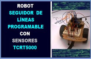 Robot Seguidor de Línea Programable Con Arduino Sensor TCRT5000 Robodacta