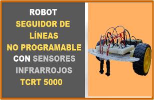 Robot Seguidor de Lineas Analógico Con Sensor TCRT5000 Robodacta