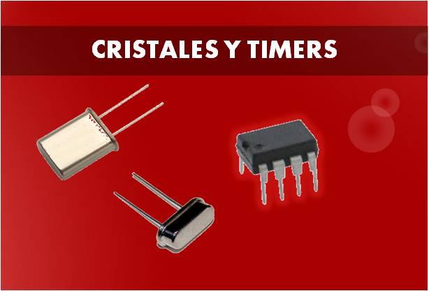 cristales y timer