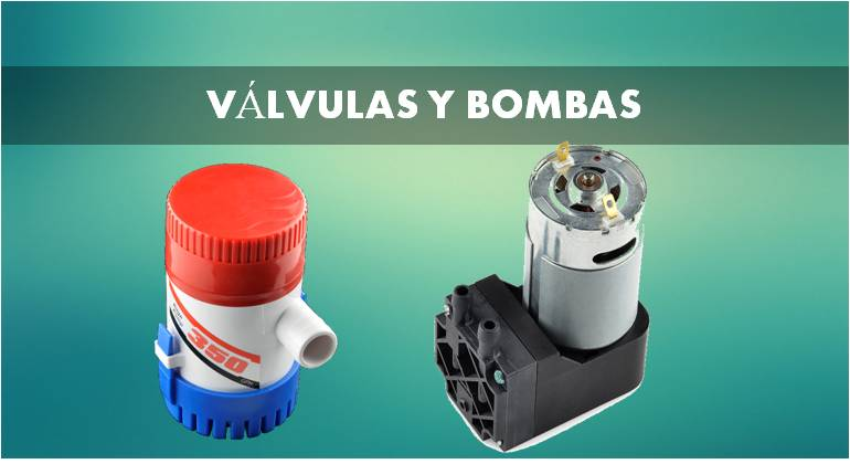 valvulas y bombas
