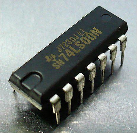 Circuito Integrado : Circuitos integrados ttl sn ls n circuito integrado ttl